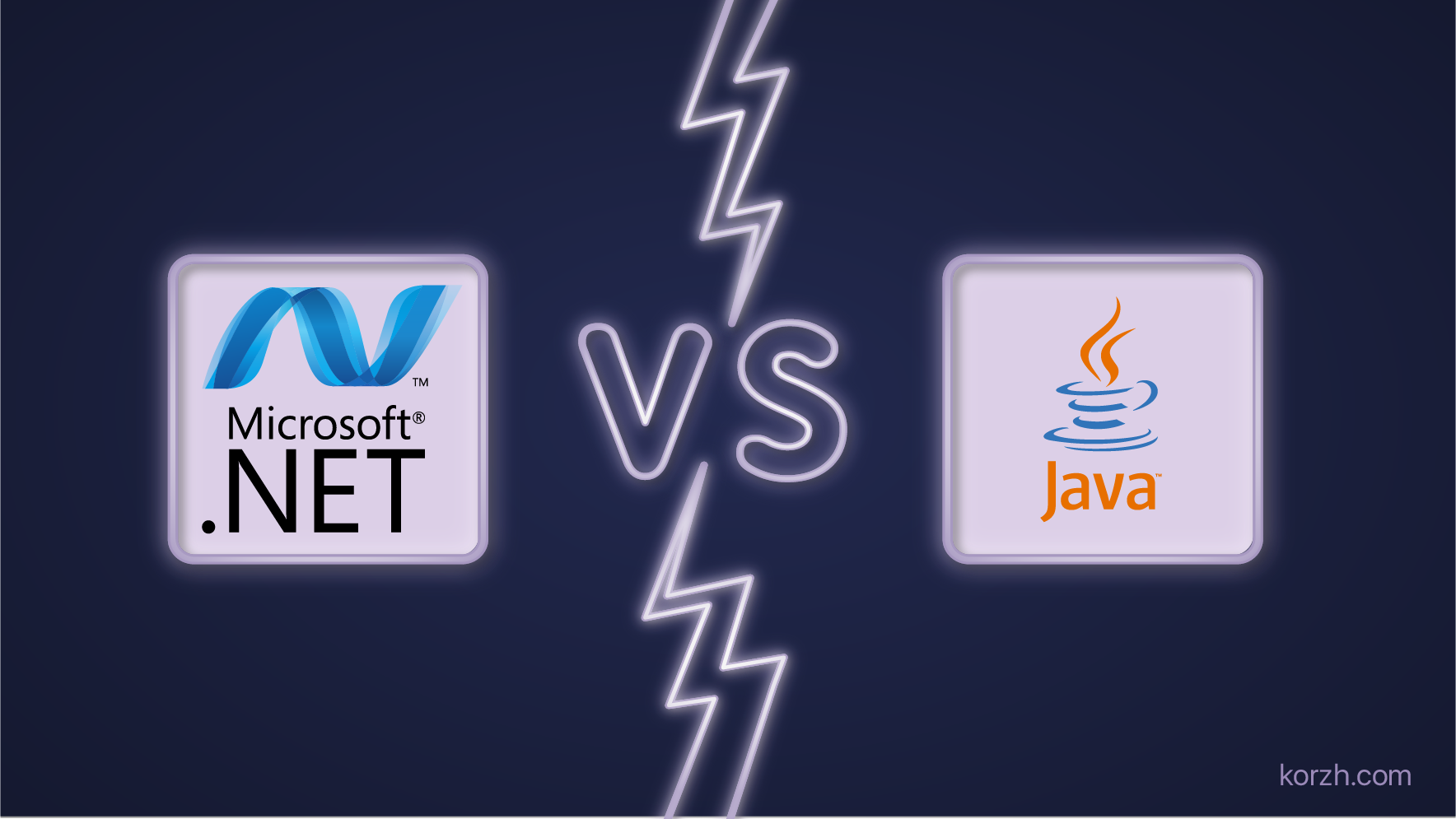 .NET vs Java